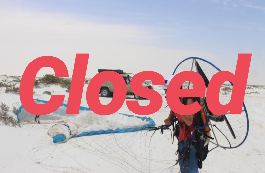 Become a pilot- Paramotorcourse in Oman
