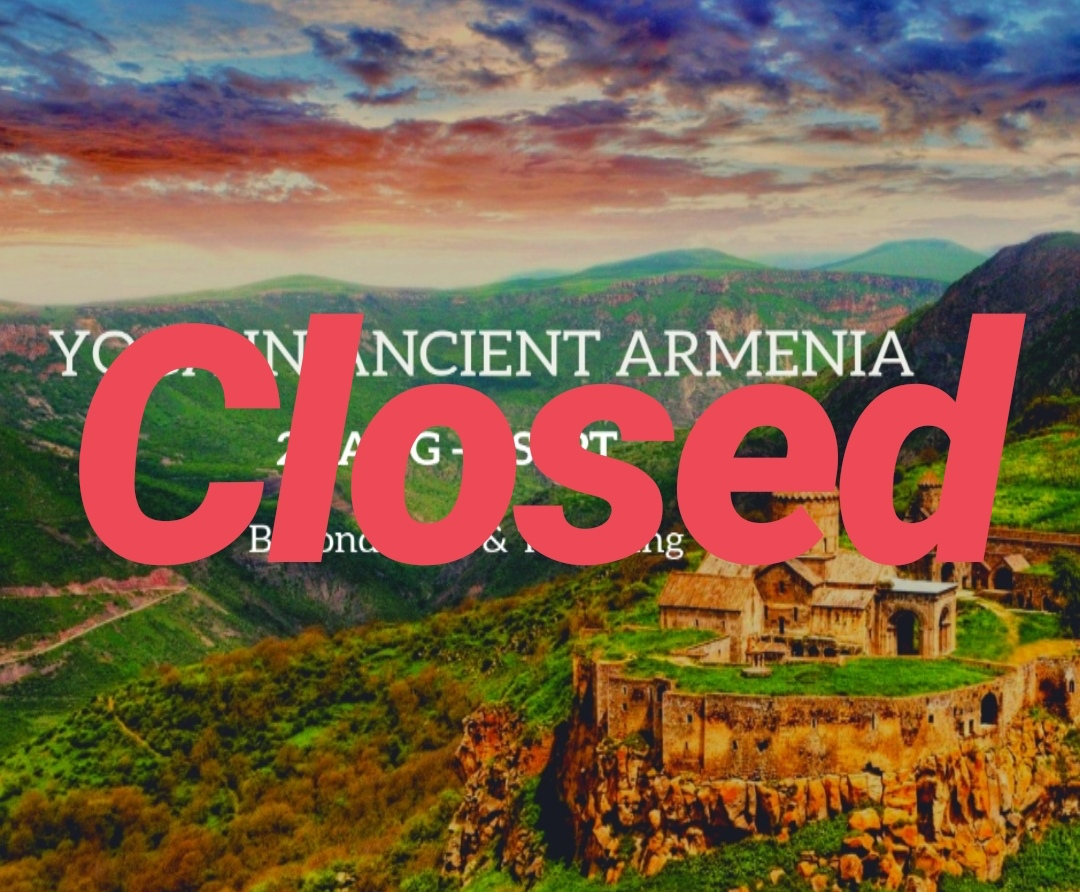 8 days Yoga Travel in Ancient Armenia.