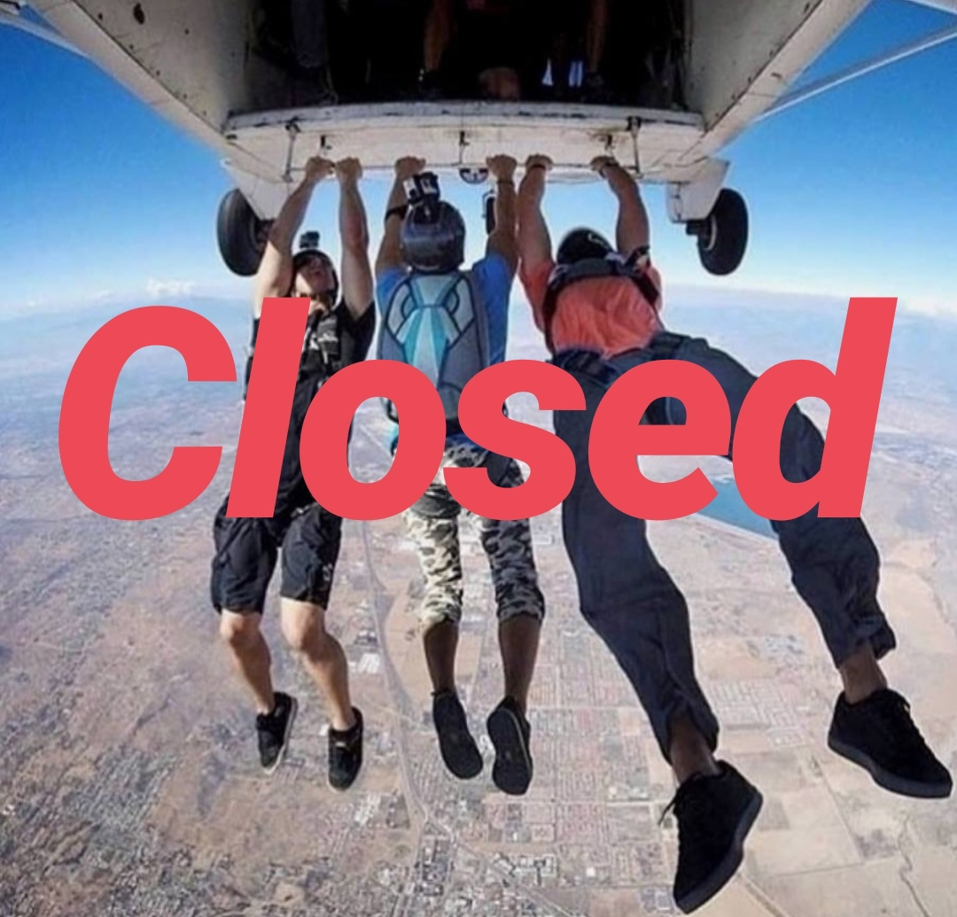 Skydivers job in California