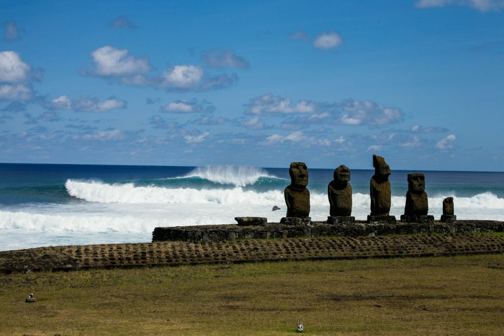 surfing in remote islands