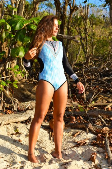 swimwear from a freediver
