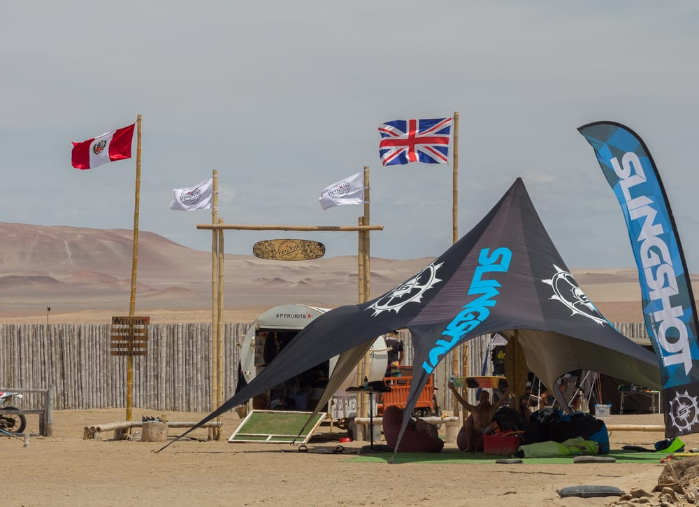 kitesurf instructors camp