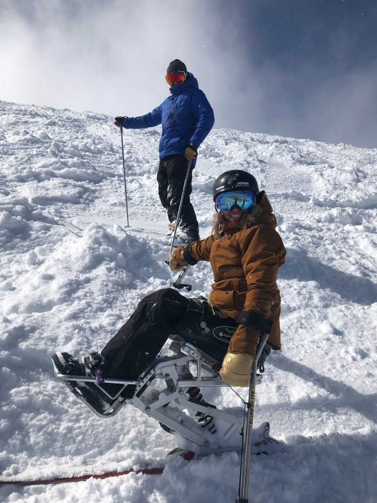 professional paralympian skier