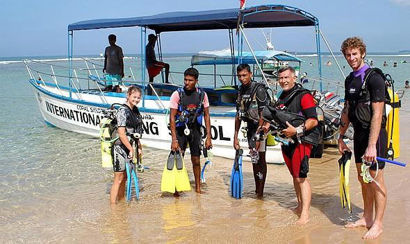 Dive intsructor job in Sri Lanka