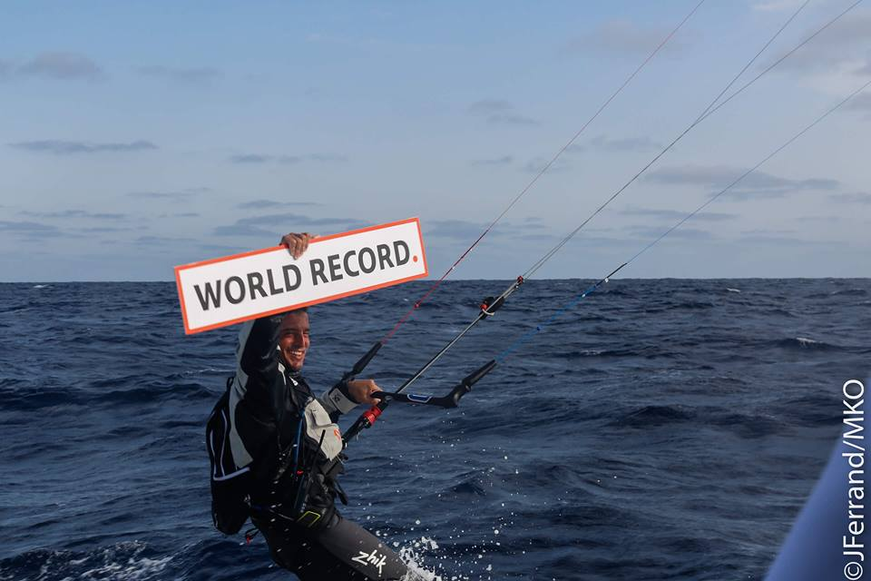 kitesurf world record