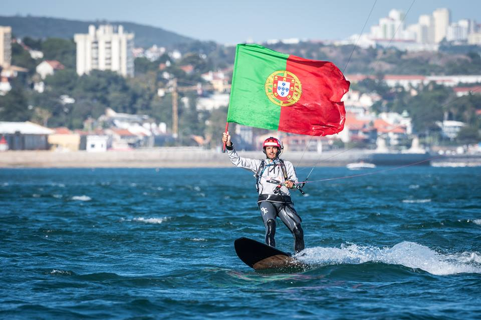 kitesurf record from azores to portugal