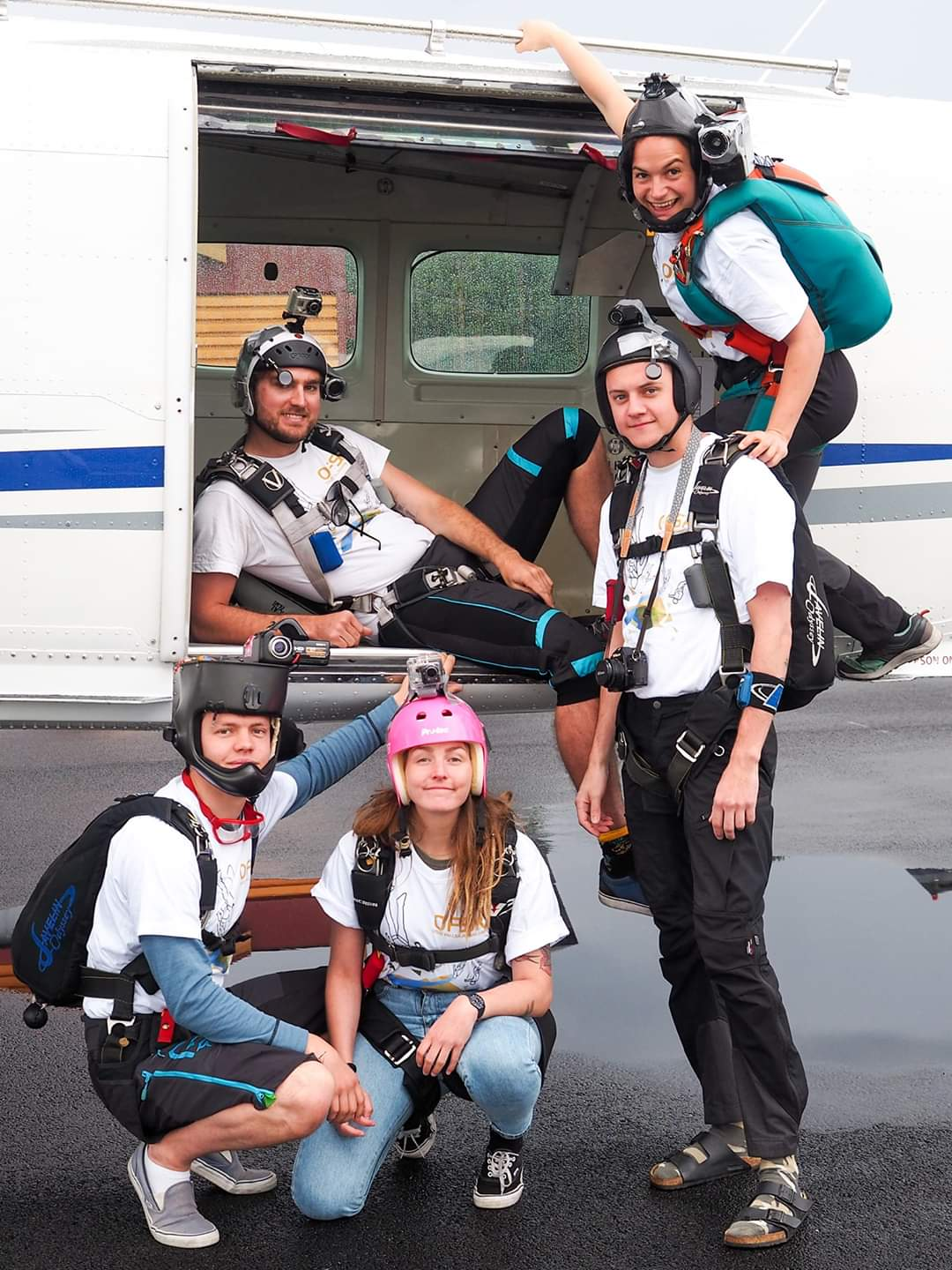 Skydive instructor job in Norway