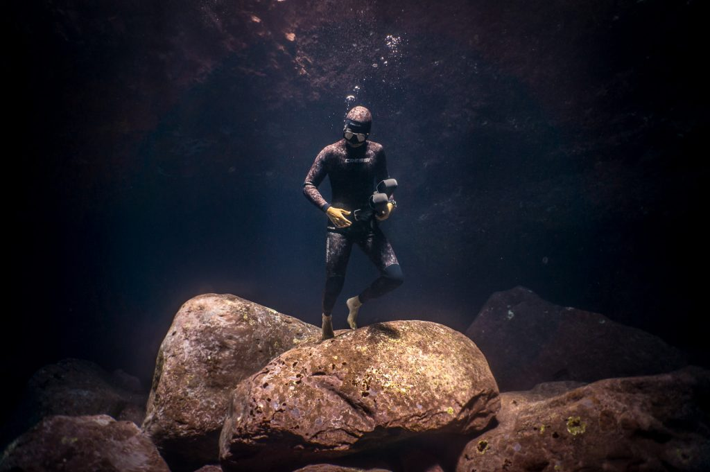 nomad freedive instructor