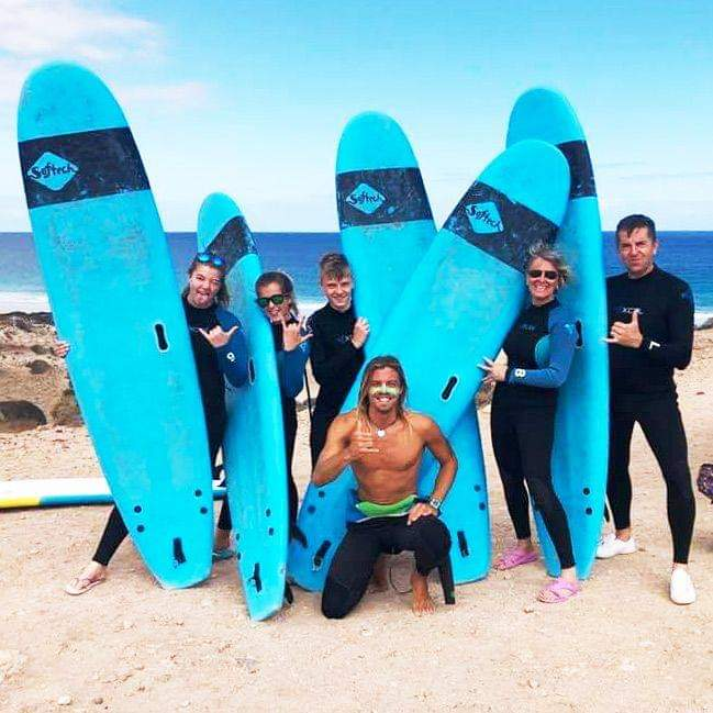 Surf instructor job in Canary Islands