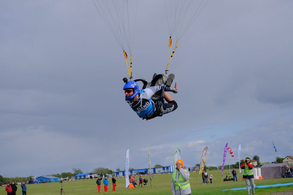 Skydive competition