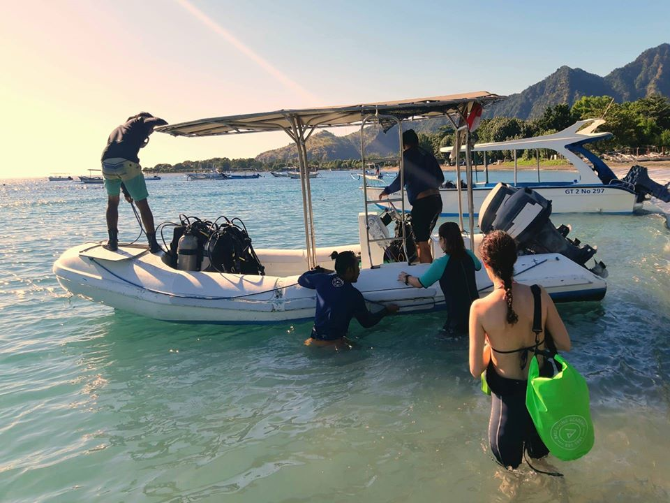 Dive instructor job in Bali