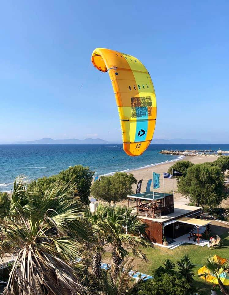 Kitesurf instructors job in Rhodes