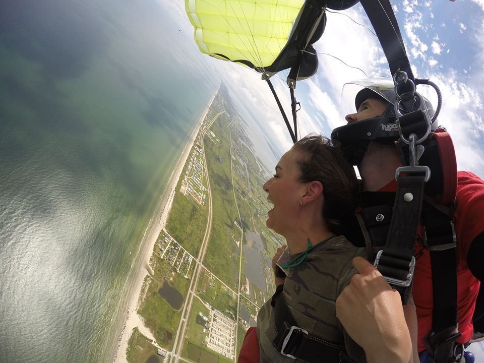 Skydive instructor job in Texas
