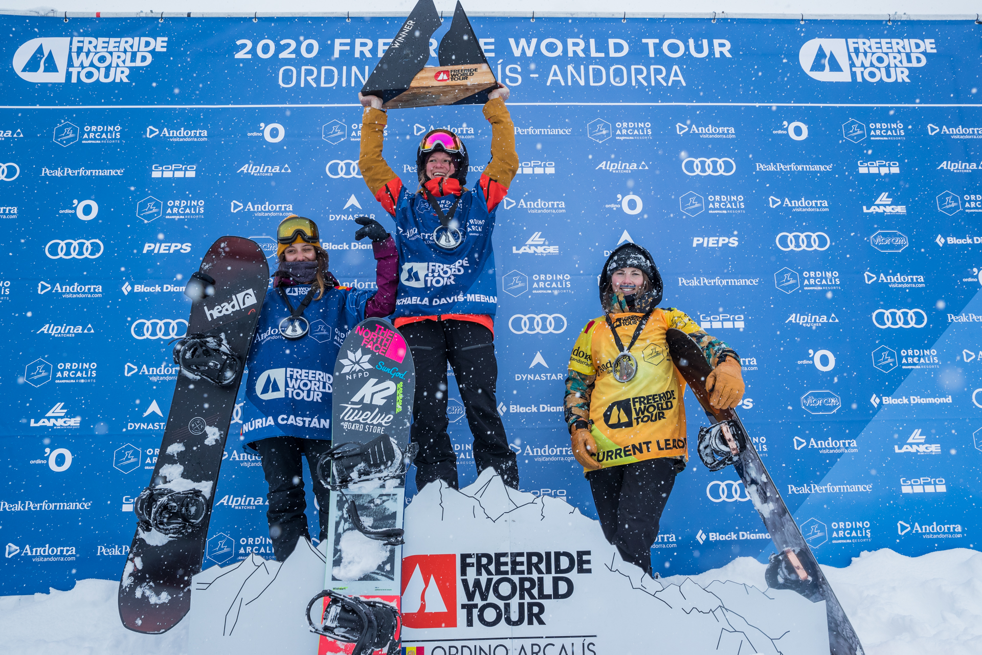 Freeride world tour winner